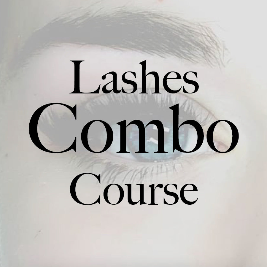 Lashes Combo Course - Classic & Volume- with kit