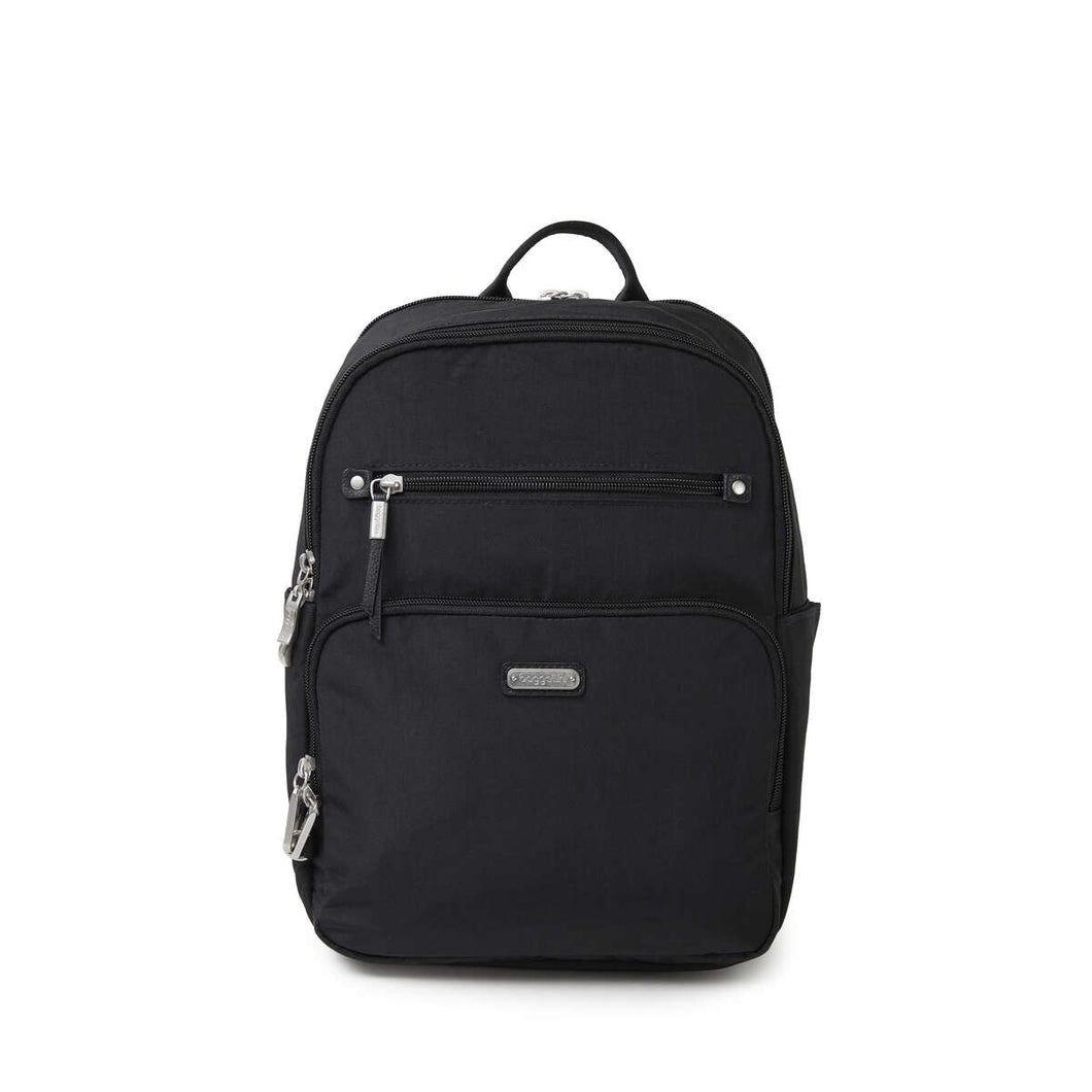 Baggallini-Explorer Backpack-BLACK