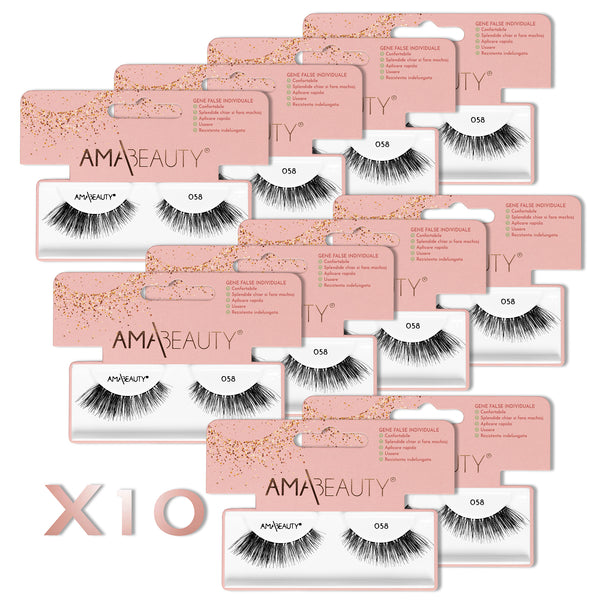 AMA|Beauty Lashes - 058 X 10