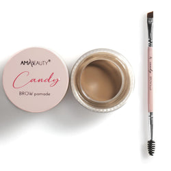 Candy Brow pomade - ALMOND CANDY + Candy BROW Brush