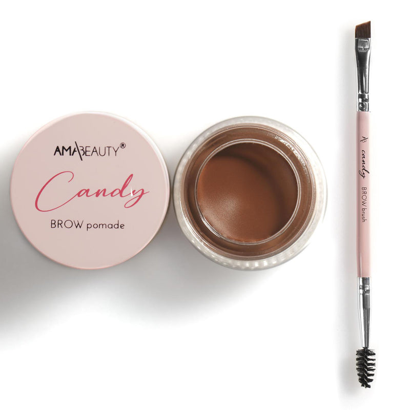 Candy Brow pomade - CARAMEL CANDY + Candy BROW Brush