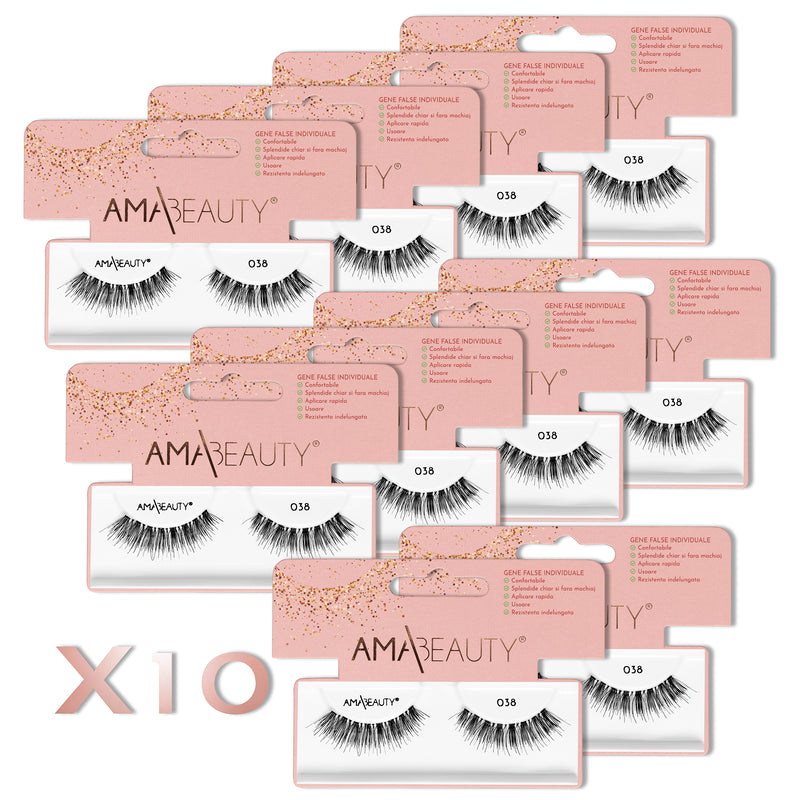 AMA|Beauty Lashes - 038 X 10