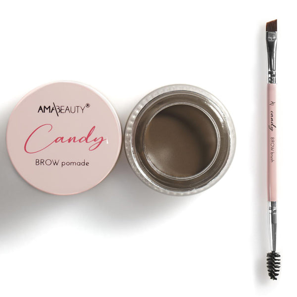 Candy Brow pomade - NOIR CANDY + Candy BROW Brush