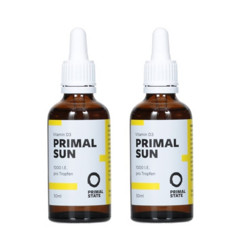 Primal State Vitamin D3 1000 I.E. Doppelpackung - 2x50 ml