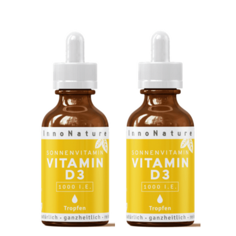 Innonature Vitamin D3 1000 I.E. Doppelpackung - 2x50 ml