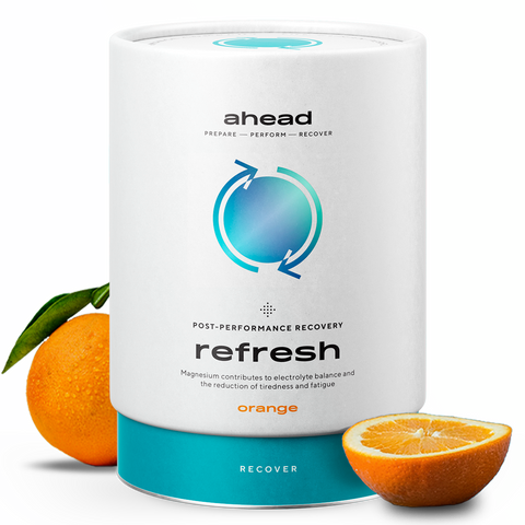 Refresh Pulver Orange - 450 g