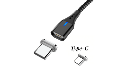 ArgonTechs™- Universal Magnetic Charging Cable- 3A- Data Transfer- Rectangular