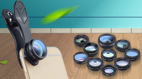 ArgonTechs™ - Mobile Camera Lens Kit - 10 In 1