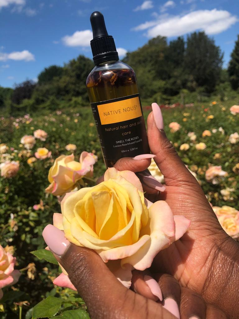 SMELL THE ROSES FACIAL OIL