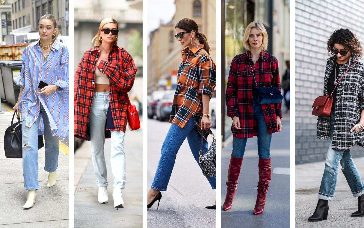 Who is the biggest lovers for boyfriend shirts?