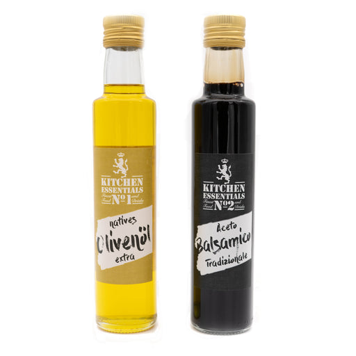 No1 & No2 KITCHEN ESSENTIALS - Natives Olivenöl & Aceto Balsamico