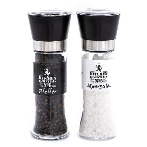 No5 & No6 KITCHEN ESSENTIALS - Meersalz & Pfeffer