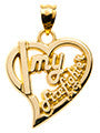 HEART WITH I MY FIREFIGHTER - Lannan Jewelry