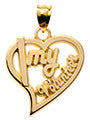 HEART WITH I MY VOLUNTEER - Lannan Jewelry