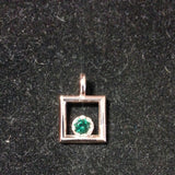 SEPTEMBER BirthStone 5mm round keepsake jewelry - Lannan Jewelry - 5