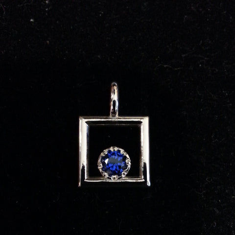 SEPTEMBER BirthStone 5mm round keepsake jewelry - Lannan Jewelry - 1
