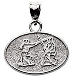 FIGHTING WITH STICKS MARTIAL ARTS JEWELRY - Lannan Jewelry