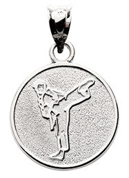 LADY IN KICKING STANCE - Lannan Jewelry