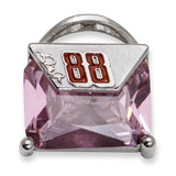 DALE EARNHARDT JR. PURSE #88 WITH PINK CZ - Lannan Jewelry