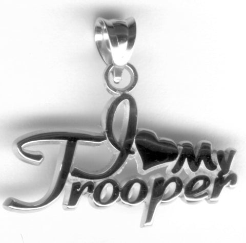 I love my Trooper Sterling silver pendant - Lannan Jewelry
