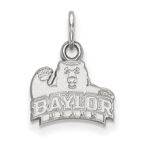 10kw White Gold Baylor University XS Pendant