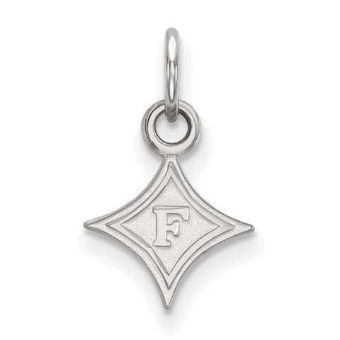 10kw White Gold Furman University XS Pendant
