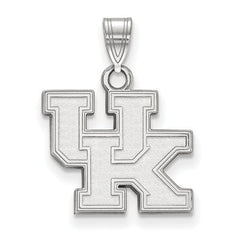 10kw White Gold University of Kentucky Small Pendant - Lannan Jewelry
