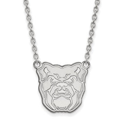 10kw White Gold Butler University Large Pendant w/Necklace - Lannan Jewelry