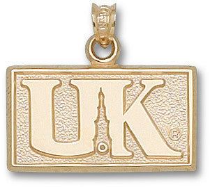 UK013 - UNIVERSITY OF KENTUCKY TOWER LOGO 14ky Yellow Gold - Lannan Jewelry