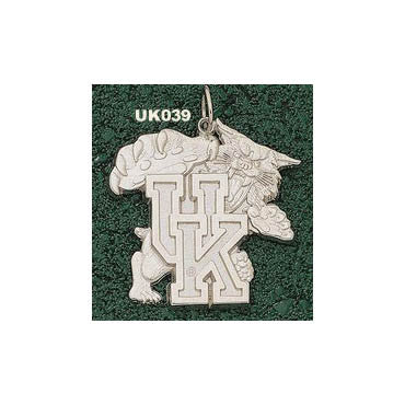UK039 - UNIV OF KENTUCKY WILDCAT MODELED GIANT 14ky Yellow Gold - Lannan Jewelry