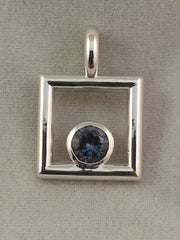 December Keepsake  Sterling silver pendant - Lannan Jewelry