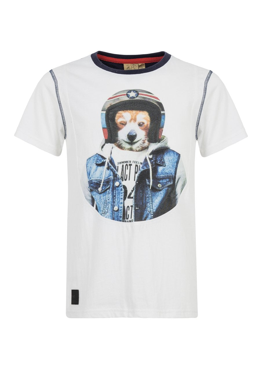 Jungen T-Shirt HOT DOG