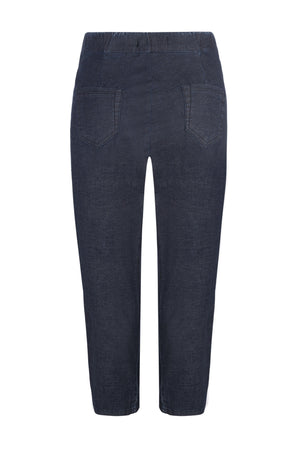 Damen Hose Happy Fit Capri Light Denim