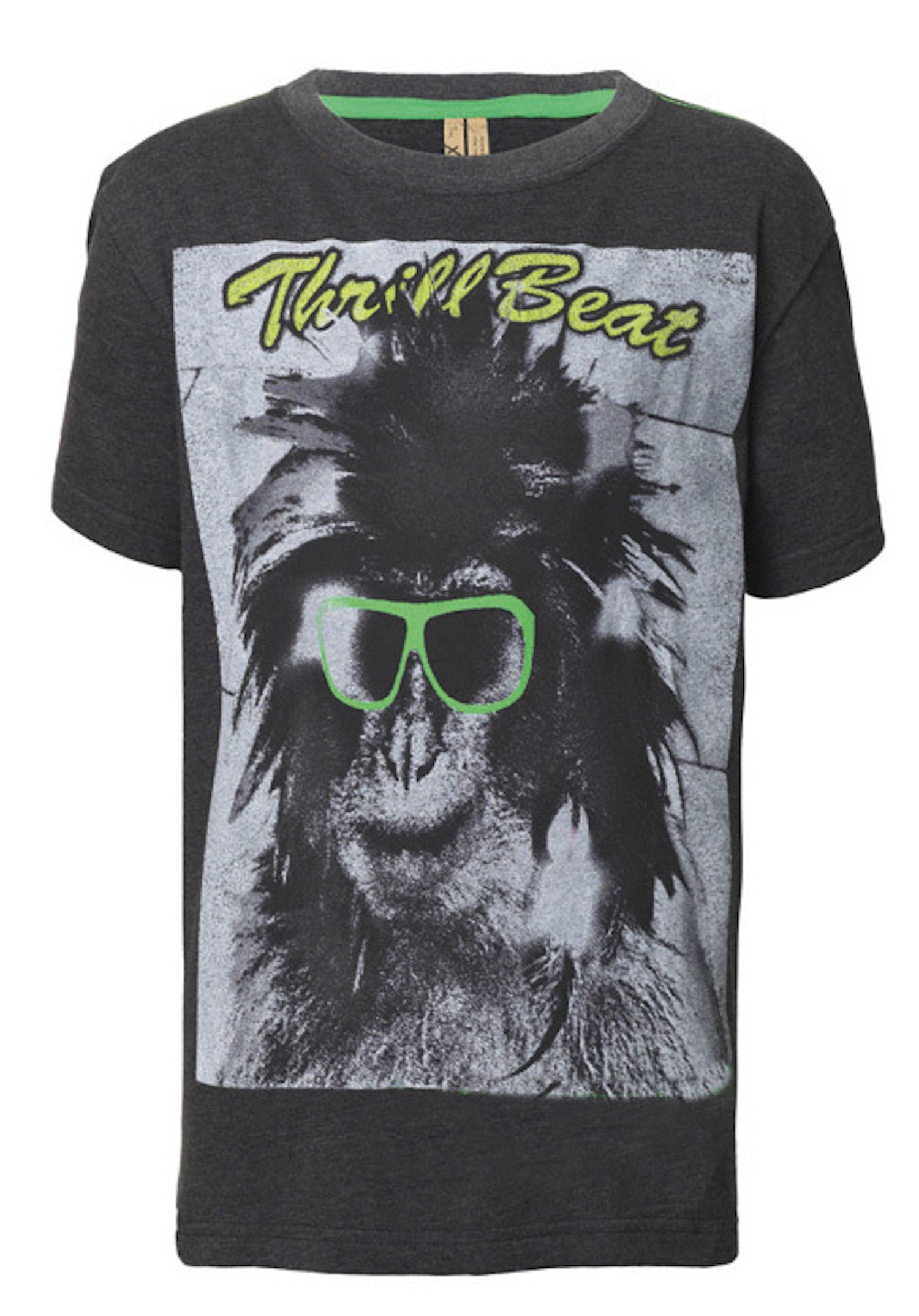 Jungen T-Shirt Monkey Glass