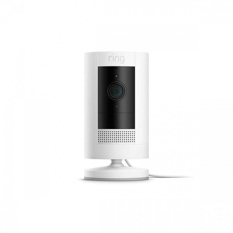 Ring Indoor Camera Hardwired White