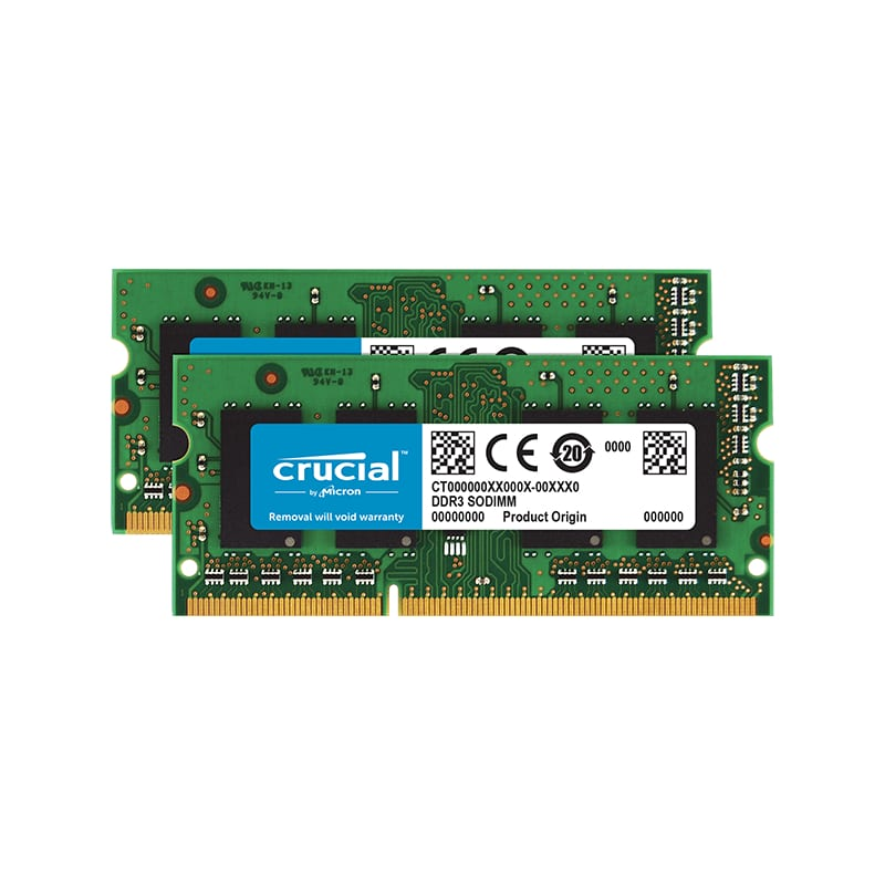 Crucial Mac 8GBKit (4GBx2) DDR3 RAM 1600Hz SO-DIMM