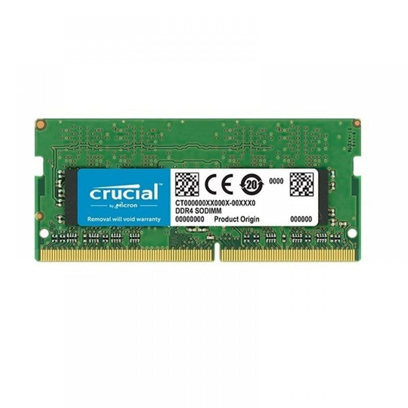 Crucial 4GB DDR4 RAM 2400MHz SO-DIMM Single Rank