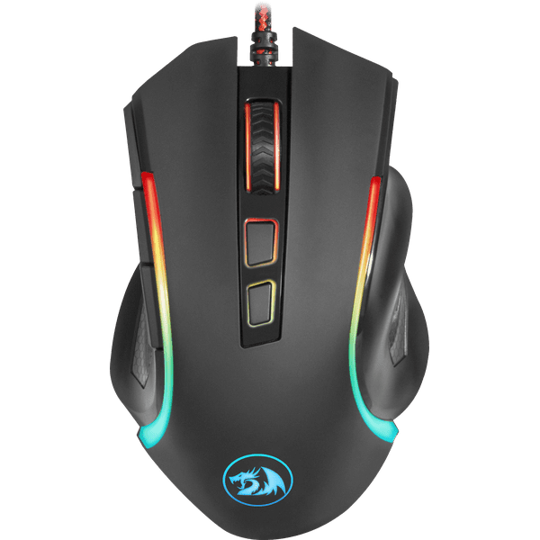 Redragon GRIFFIN 7200DPI Gaming Mouse - Black