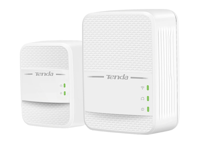 Tenda PH10 | WiFi Powerline Kit P3+PA7 650Mbps Dual Band AC 2pc
