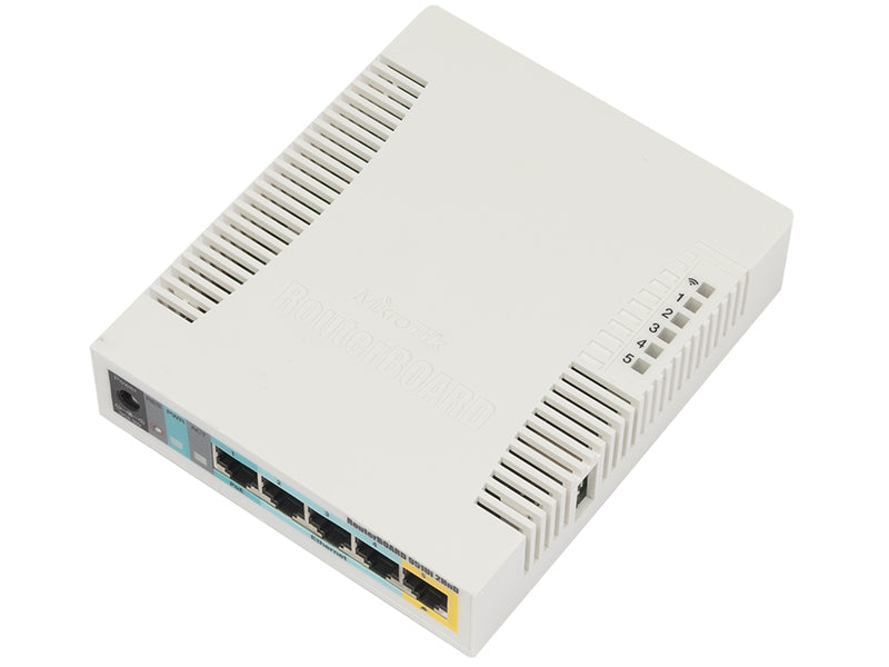 MikroTik RB951Ui-2HnD | WiFi Router 2,4GHz