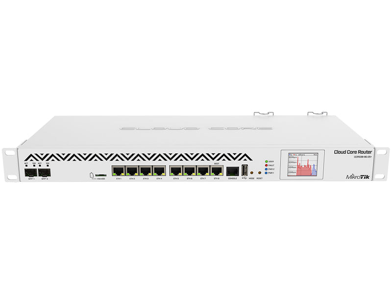 MikroTik CCR1036-8G-2S+ | 36 Core Rack-Mount Router SFP+ GbE