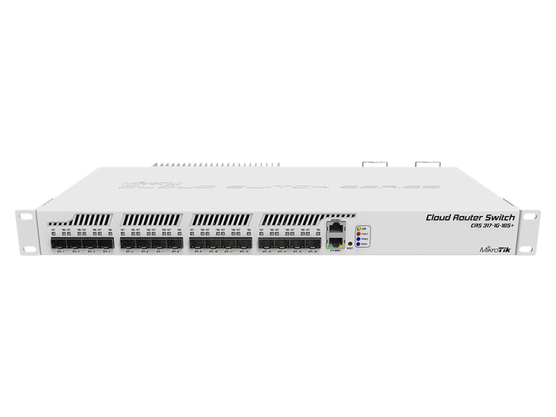MikroTik CRS317-1G-16S+RM | Rack-Mount Router Switch SFP+ GbE