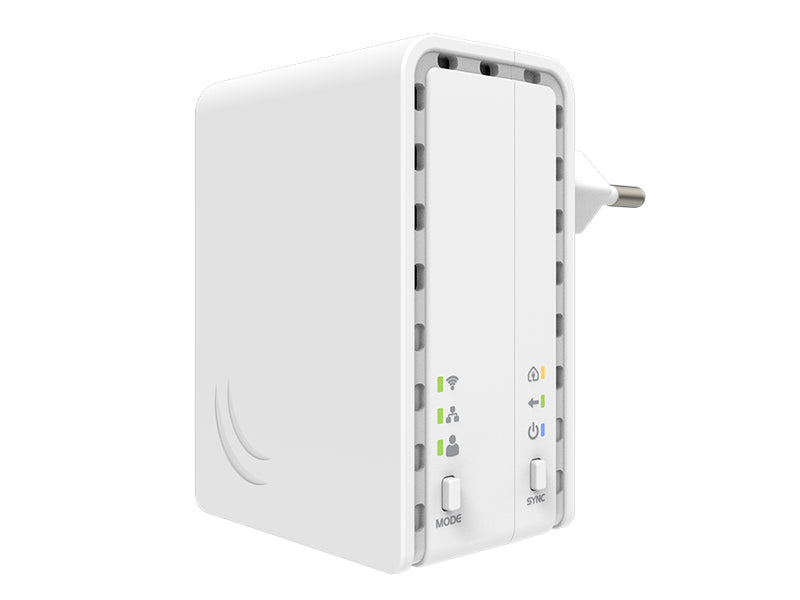 MikroTik PL7411-2nD | Powerline WiFi AP 2.4GHz 1.5dBi