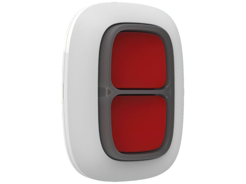 Ajax DoubleButton Wireless Hold Up Button White