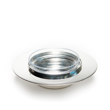 Ercuis Saturne Silver Plated Caviar Cup