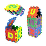 NEW 36Pcs Number Alphabet Puzzle Foam Maths Educational Toy Gift