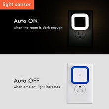 Load image into Gallery viewer, LED Night Light Automatic Sensor Lamp Wall Light for Hallway, Kitchen, Bathroom, Bedroom, Stairs