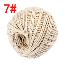 Load image into Gallery viewer, Two Colors Cotton Bakers Twine Rope Rustic Country Crafts Handmade Accessories