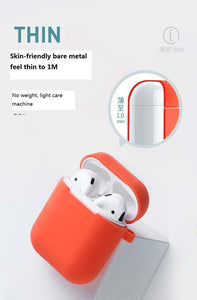 Suitable for airpods protective sleeve; silicone headset cover; Apple Bluetooth headset cover  airpods headphone set