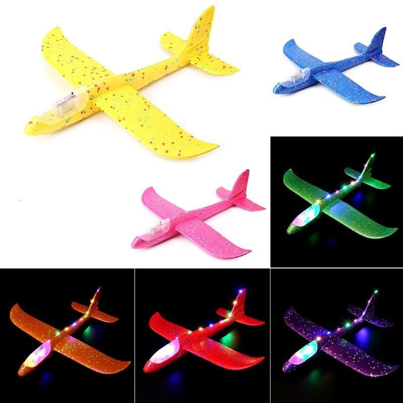 Hand Launch Throwing Glider Aircraft Foam EPP Airplane Plane Model Outdoor Toy